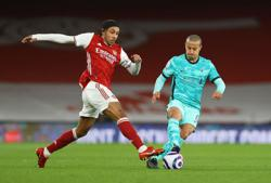 Soccer-Arsenal without Lacazette and Aubameyang for Everton game