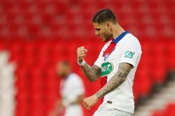 Icardi fires PSG into French Cup semis, Monaco beat Lyon