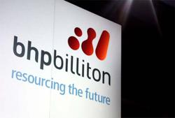 BHP sees iron ore output near upper end of forecast