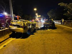 Man who drove against flow of traffic in Penang dies