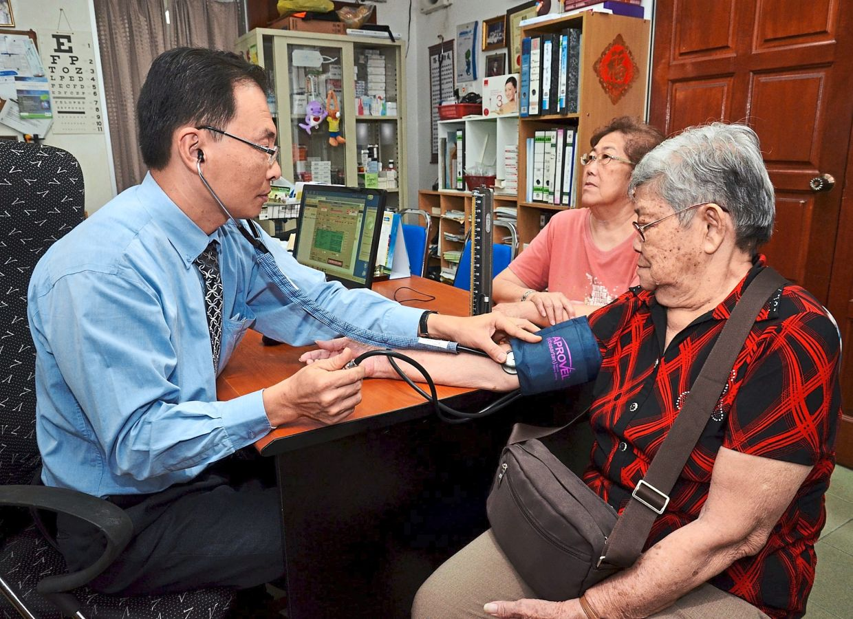 Patients who are more comfortable speaking in their mother tongue might seek out doctors who are fluent in the same language or dialect. — Filepic