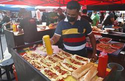 Ramadan bazaar crowds following SOPs with no problems reported