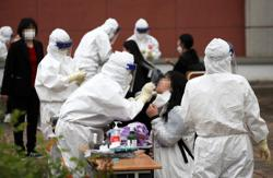 S. Korea's new Covid-19 infections near 800, with rising untraceable cases