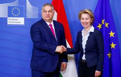 EU chief, Hungary's Orban discuss COVID-19 recovery spending