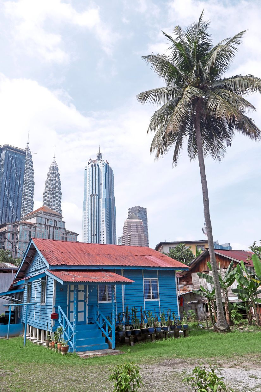 The redevelopment of Kampung Baru in Kuala Lumpur is moving forward. — IZZRAFIQ ALIAS/The Star