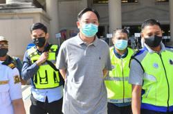 Businessman in bodyguard assault case rearrested for money laundering