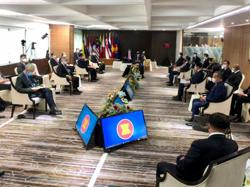 South-East Asian leaders discuss Myanmar crisis with junta chief