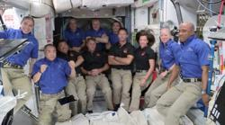 Astronauts arrive at space station aboard SpaceX Endeavour
