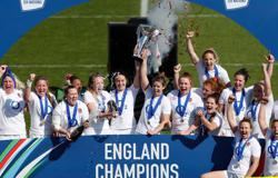 Rugby-England edge France to earn third straight Women's Six Nations title