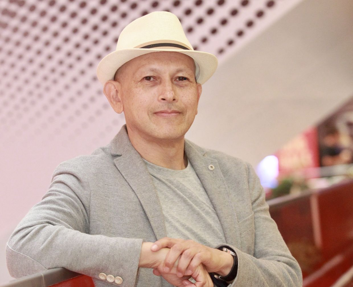 'Gothic elements are found in mystery, the unknown, a hidden secret, an old mansion, omens, a female in distress, all of which unfold in the trilogy. So there's a lot to enjoy!' says Tunku Halim about his new books for children. Photo: Filepic