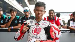Podium cheers erase Danial's fears caused by 2018 crash