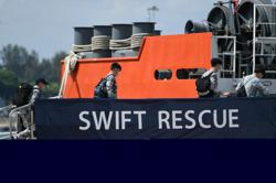 Singapore's MV Swift Rescue arrives in Bali to aid search for Indonesia submarine