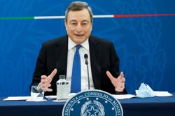 Draghi says deal reached with EU on Italy's recovery plan - officials