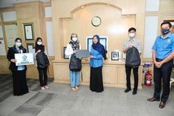 Subang Jaya City Council's digital platforms for donations to help the needy