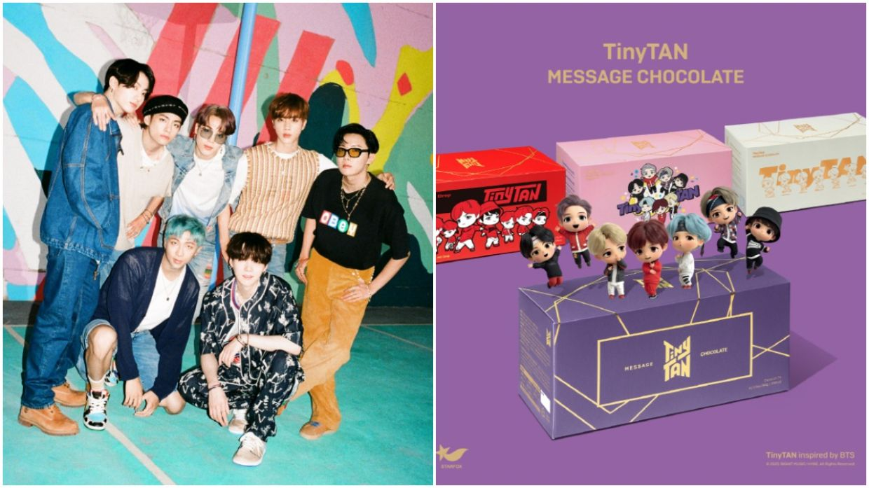 K pop sensation BTS to serve 'Butter' and chocolates to fans   The ...
