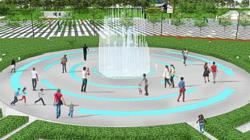 Green-friendly square in the works