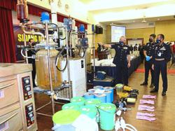 Police bust two drug syndicates