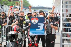 A-class ride as Adam secures first podium