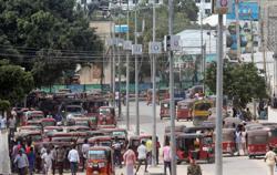 Forces opposed to Somali president control parts of Mogadishu