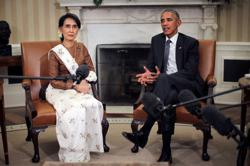 Obama calls Myanmar violence 'heartbreaking,' says there should be costs to generals