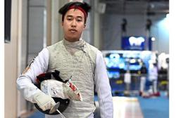Fencer Hans comes close to earning Olympics ticket