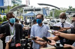 Anwar was called in as a 'witness' over the viral audio clip