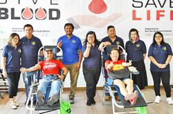 Communities in Brunei answer call for blood donations