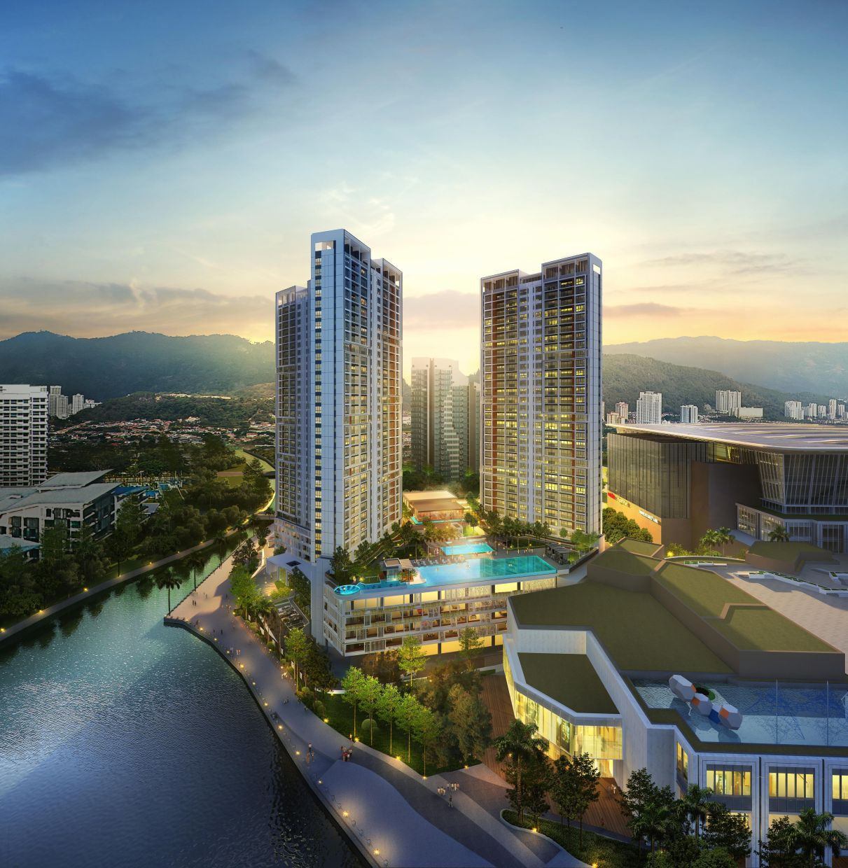 Mezzo, the first and a key residential component of The Light City with stunning views of the Penang Straits, had its soft launch in February this year.