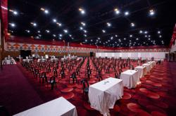 Sunway Pyramid Convention Centre is now a vaccination centre