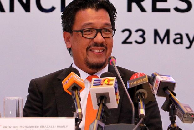 Datuk Seri Mohammed Shazalli Ramly