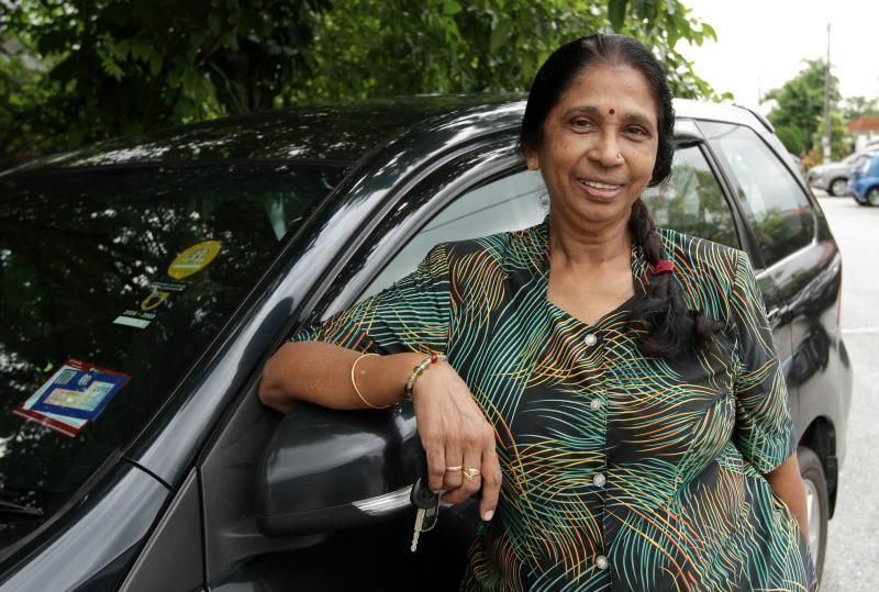 'Grab Aunty' let go due to age, appeals for the chance to continue earning a living