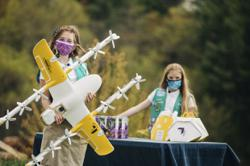 Girl Scout cookies take flight in Virginia drone deliveries