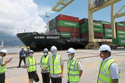Penang Port receives its first transhipment