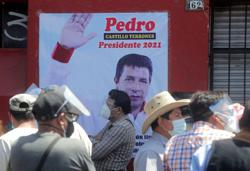Peru presidential front-runner Castillo rushed to clinic, suspends campaigning
