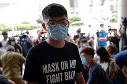 HK activist Joshua Wong pleads guilty over June 4 'illegal assembly'