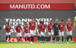 Soccer-Man Utd ban six fans for alleged social media abuse of Tottenham's Son