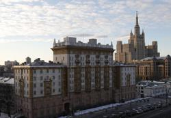 Moscow decries 'unfriendly actions' as U.S. ends visa services for most Russians