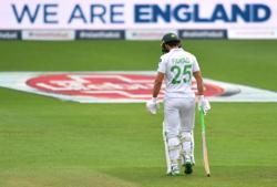 Cricket-Fawad bags fourth test ton as Pakistan grow lead v Zimbabwe