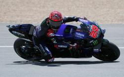 Motorcycling-Quartararo on pole for Spanish GP, Marquez 14th