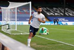 Soccer-Aguero fires Man City to brink of title