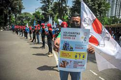 Workers demand protection