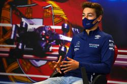Motor racing-Williams have a real chance to score, says Russell
