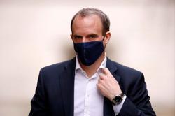 UK's Raab: No final decision on EU ambassador's status