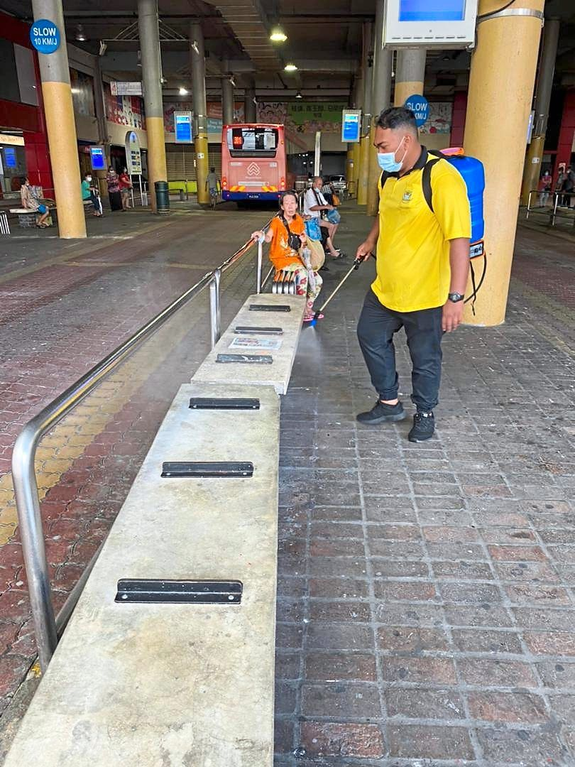 Council frontliners have been working tirelessly to keep Penang clean. — Filepic