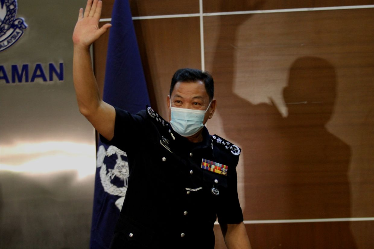 Outgoing IGP says up to police to investigate claims of political interference as he hands over reins to Acryl Sani