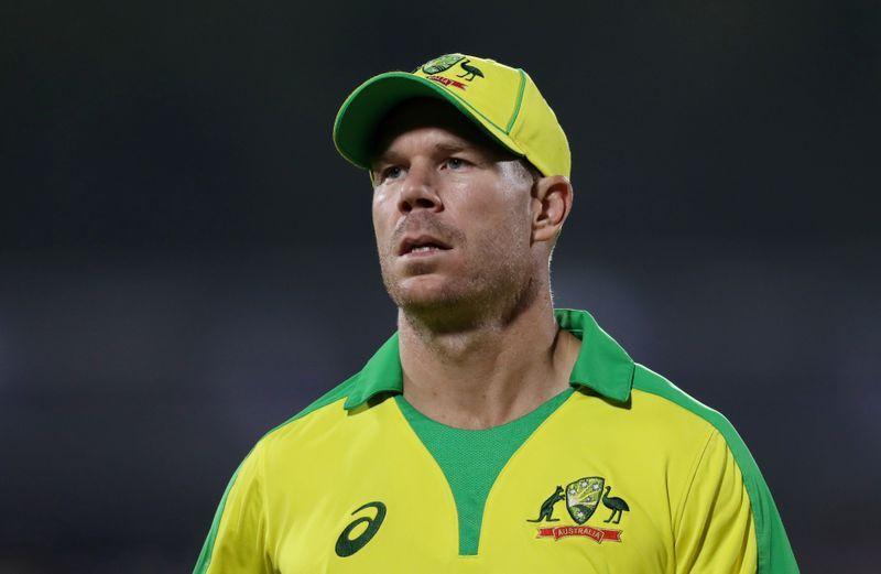 Cricket-'Shocked' Warner responding well to IPL axing - Hyderabad