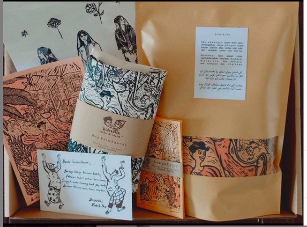 Kide and Ika's limited edition Hari Raya art box set. Photo: Kide & Ika