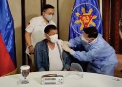 Duterte inoculated with China's Sinopharm vaccine