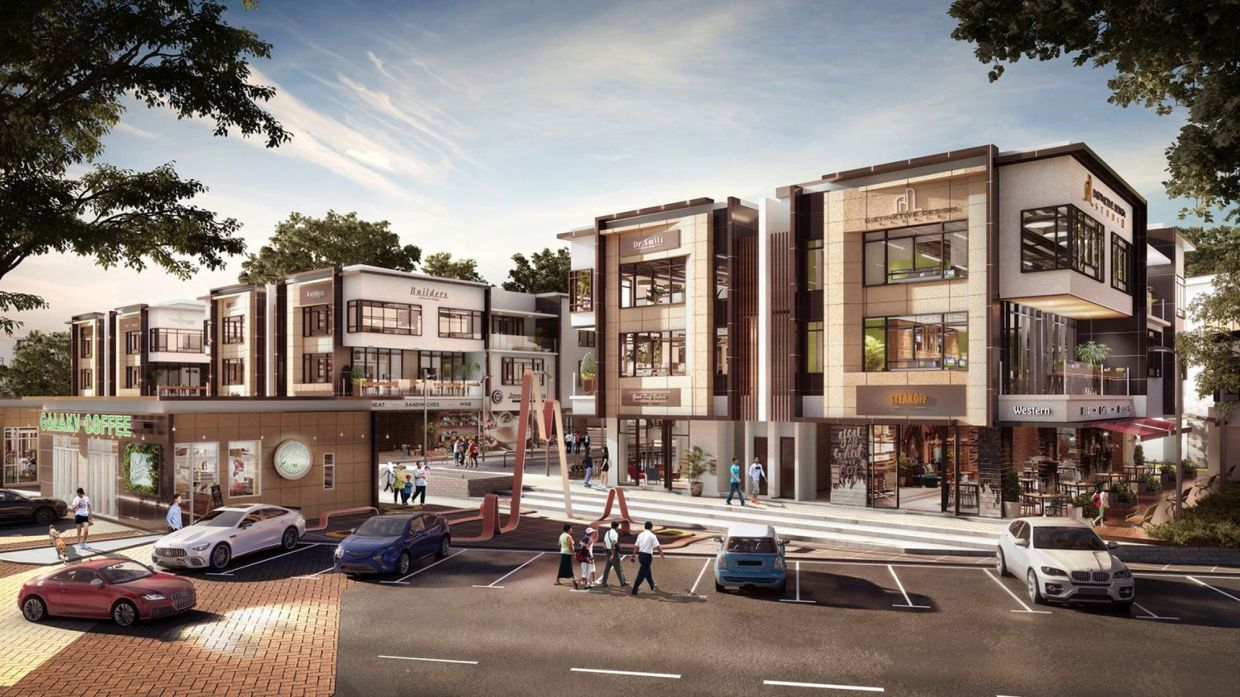 Bandar Rimbayu residents will soon be able to work, play, and feast at Uptown @ Rimbayu.