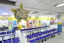 Silence at bus terminals